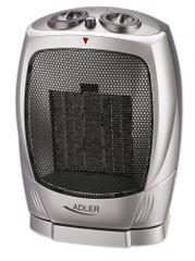 Adler keramični grelec 1500W, srebrn (AD7703)