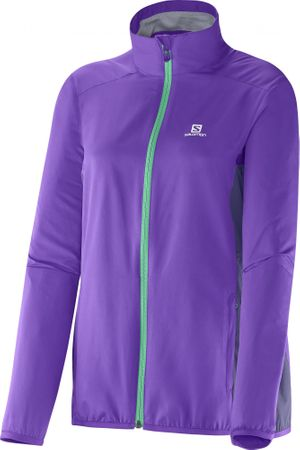 Salomon jakna Start Jacket, ženska, vijolična, M