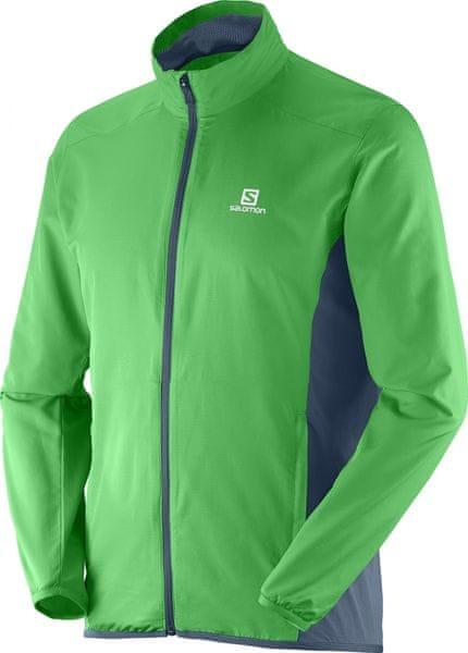 Salomon Start Jacket M Bud Green/Bleu Gris L