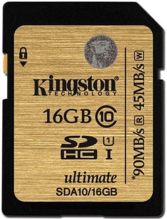 Kingston spominska kartica SD UHS-I 16GB