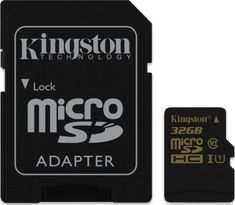 Kingston microSDHC 32GB (class 10) 90MB/s + adaptér