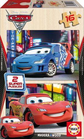Educa sestavljanka 2X16 Cars2 14934