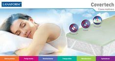 Lanaform dvoposteljna proalergijska prevleka 3 v 1 Covertech z mikro kapsulami