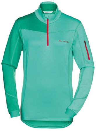 Vaude Women's Boe Halfzip Lotus Green 40