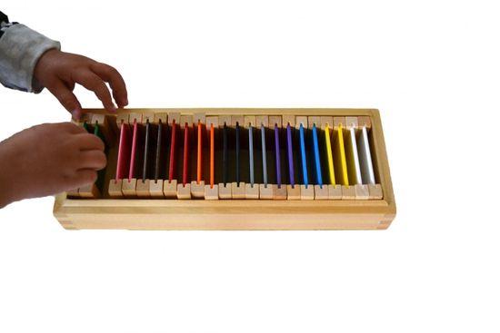 Montessori Színes lapocskák 2 – kiegészítő készlet