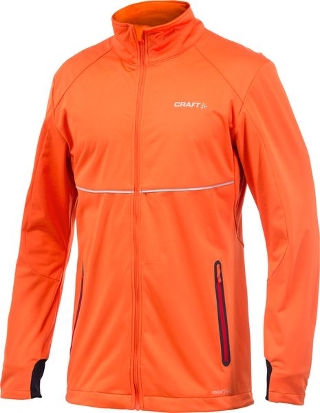 Craft Bunda PXC Light Softshell Oranžová S