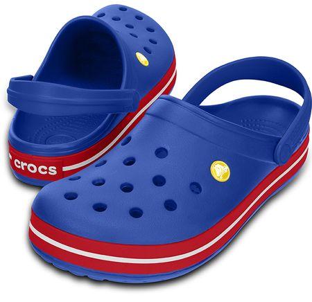 Crocs Crocband Cerulean Blue/Pepper M6/W8 (38,5)