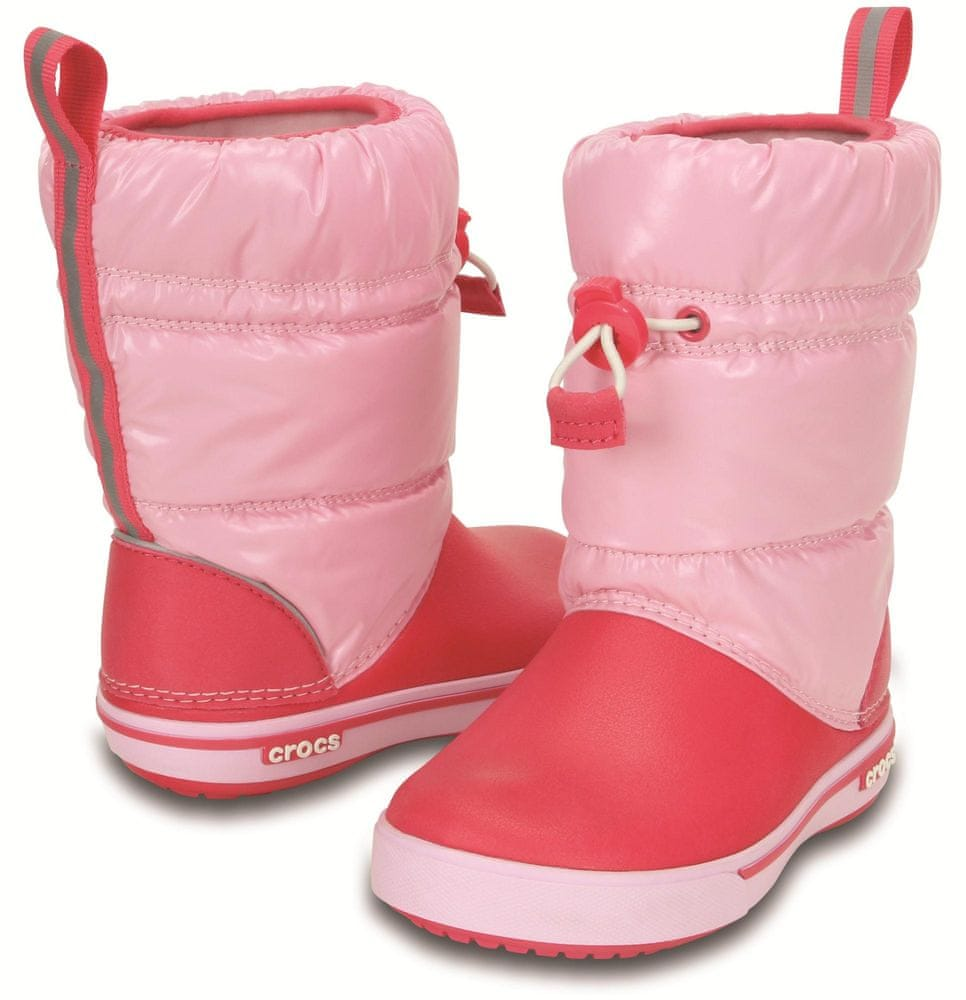 Crocs Crocband Ir. Gust Boot Kids Ballerina Pink Poppy C10 (27 db32f7226b