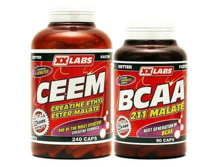 XXlabs CEEM 240cps + 211 BCAA 90cps
