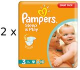 Pampers Sleep&Play 3 Midi - 200 szt.