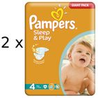 Pampers Sleep&Play 4 Maxi - 172 szt.