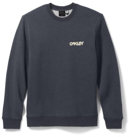 Oakley pulover Heritage Crew, moški, Dark Heather Grey, S