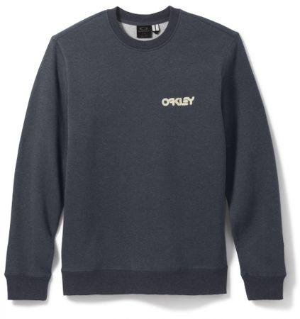 Oakley pulover Heritage Crew, moški, Dark Heather Grey, L