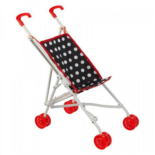 KidKraft Kočárek pro panenky RED DARLING