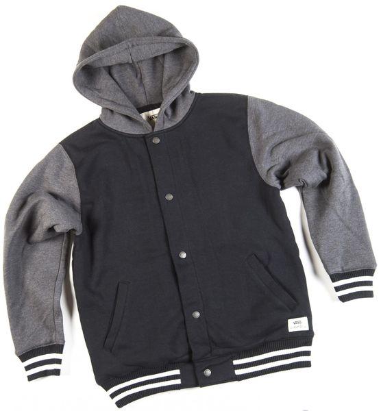 Vans B University II Sherpa Black/New Charcoal Heather XL
