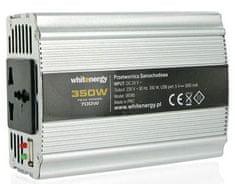 OEM WE Měnič napětí DC/AC 12V / 230V, 350W, USB (06579) - rozbaleno