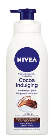 Nivea Vlažilno mleko za telo s kakavom, 400 ml
