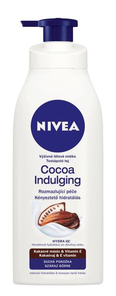 Nivea Cocoa Indulging výživné tělové mléko pro suchou pokožku 400 ml