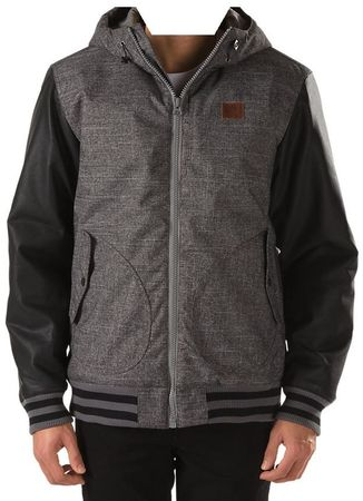 Vans jakna B Rutherford Mountai, otroška, New Charcoal/Bl, XL