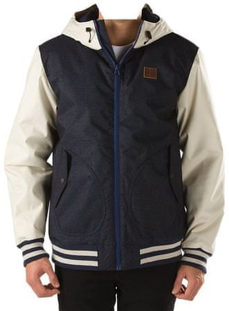 Vans jakna B Rutherford Mountai, otroška, Ecllpse/Bone Wh, S