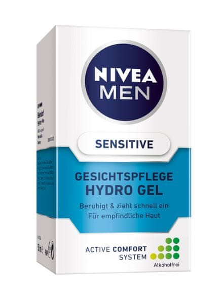 Nivea MEN Pleťový gel Sensitive 50 ml