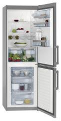 AEG S53620CSX2 Kombinált hűtőszekrény, 337 L, A++