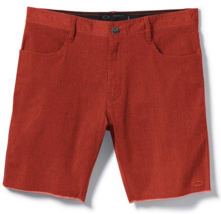 Oakley kratke hlače Slats Short, moške, Rust, 28