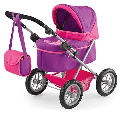 Bayer Design Kočárky pro panenky Trendy, růžová - II. jakost