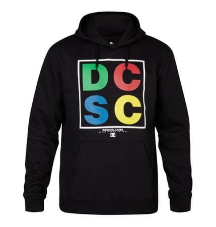 DC pulover s kapuco Survival PH, moški, črn, M