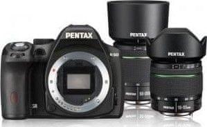 Pentax K-50 Black + DAL 18-55WR + DAL 50-200WR