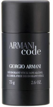 Giorgio Armani deodorant Code For Men, 75 ml
