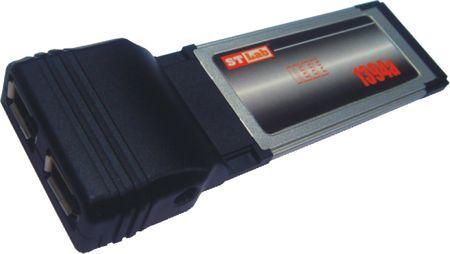 ST Lab Kartica ExpressCard Firewire 400 C-201 ST-Lab