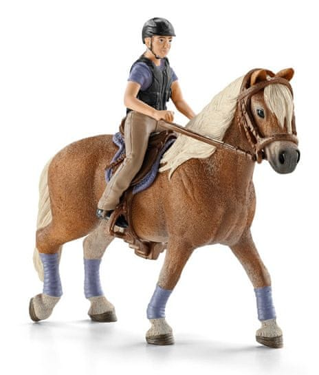 Schleich Rekreační jezdec na koni 42113