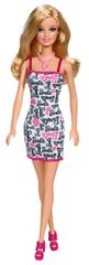 Barbie Bábika v šatách s nápisom