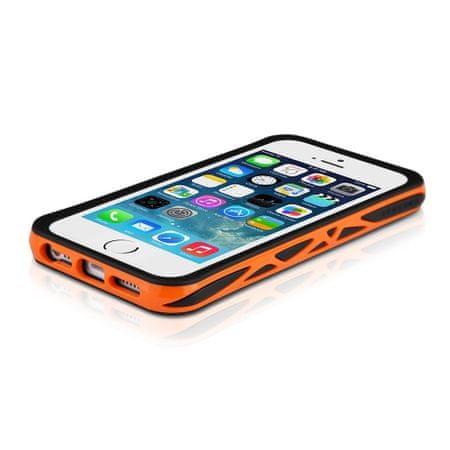 ITSKINS etui VENUM + zaščita zaslona in hrbta za iPhone 5S/5, APH5-VENUM Črna/oranžna