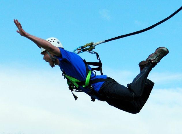 Poukaz Allegria - bungee jumping Písek