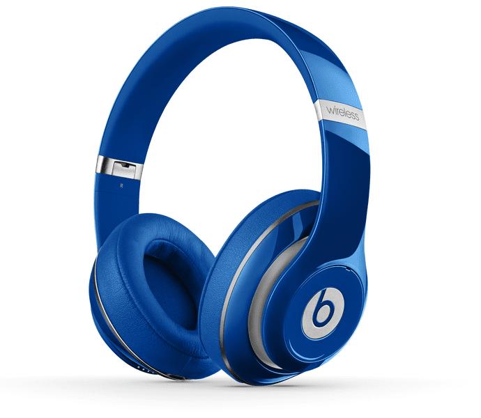 Beats by Dr. Dre Studio Wireless, modrá (MHA92ZM/B)