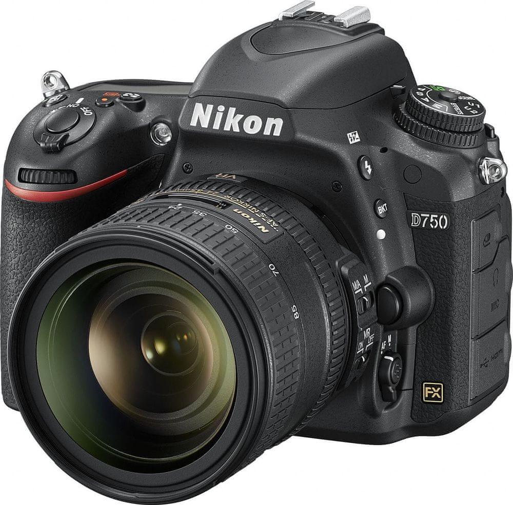 Nikon D750 + 24 - 85 mm VR - zánovní