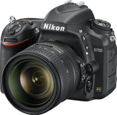 Nikon D750 + 24 - 85 mm VR + Cashback 7500 Kč!