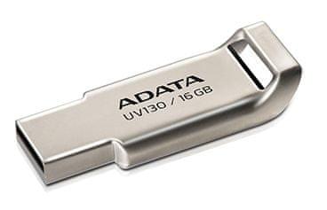 Adata UV130 16GB kovový (AUV130-16G-RGD)