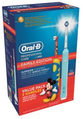 Oral-B zestaw szczoteczek elektrycznych PC 500 + Mickey D10K