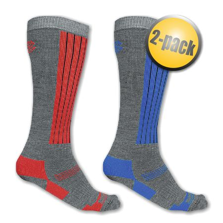 Sensor skarpetki Snow 2-Pack gray/blue+gray/red 9/11