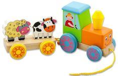Studo Wood Traktor + vozík