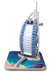 CubicFun Puzzle 3D Burj Al Arab - 44 dielikov