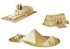 CubicFun Puzzle 3D Egyptské pamiatky - 30 dielikov
