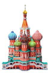 CubicFun Puzzle 3D Katedrála sv.Basileje - 214 dielikov