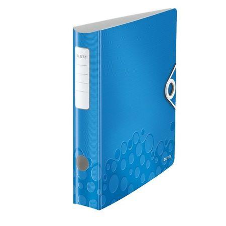 Mobilní pořadač Leitz 180 ACTIVE WOW A4 5 cm metalicky modrý