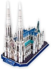 CubicFun St.Patrick's Cathedral 3D Puzzle, 117 db