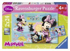 Ravensburger sestavljanka Dan z Minnie, 2x24 kosov