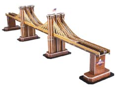 CubicFun Brooklyn Bridge 3D Puzzle, 64 db